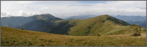 Nízké Tatry. Veľká hoľa a Prašivá Chochuľa