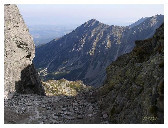 Vysoké Tatry, sedlo Zawrat