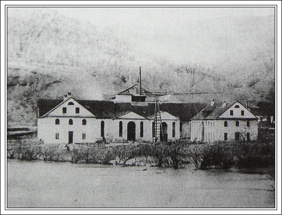 Železiareň v Revúcej - Kieškovej (1877)
