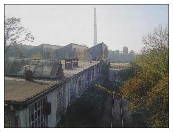 Coburgova železiareň v Trnave. Fotografie zo súčasnosti