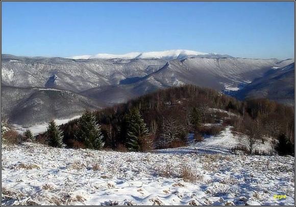 Muránska planina od Nemcovej