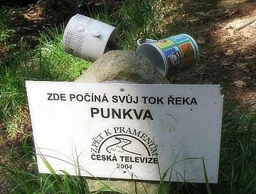 Pramen Punkvy