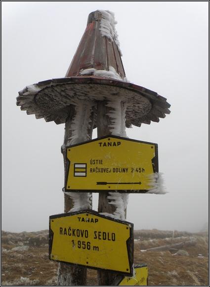 Západní Tatry, V Račkovom sedle