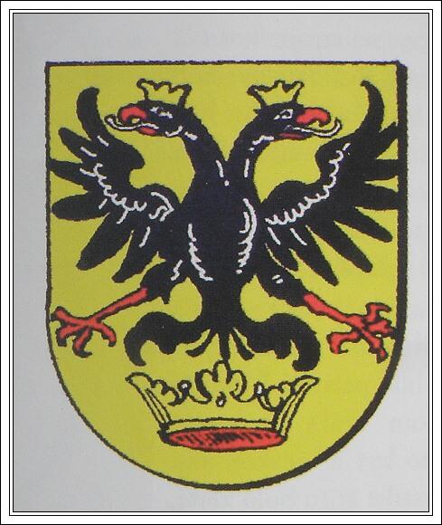 Současná heraldická podoba erbu rodu Séčiovců