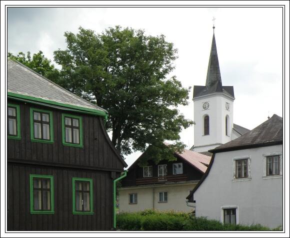 Příchovice. Kostel sv. Víta