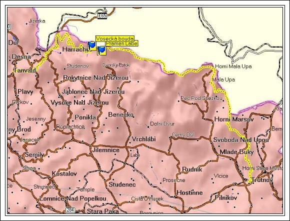 Krkonošská trasa