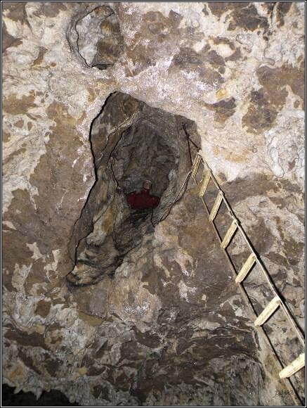Malá Stanišovská jaskyňa. Jeskynní maskot Alfréd