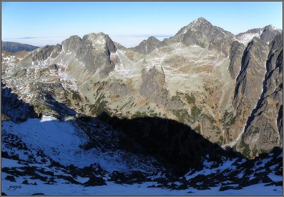 Veľká Studená dolina ze Slavkovského štítu