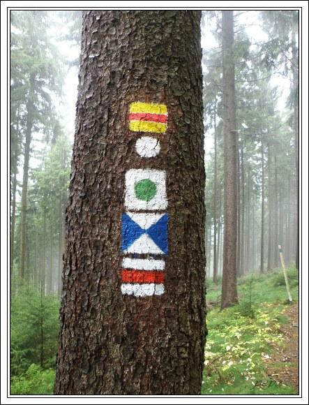 Německé turistické značení má mnoho podob