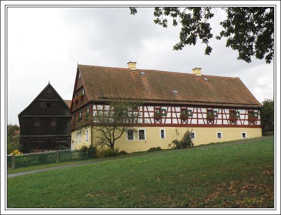 Hrázděný dům v Neualbenreuthu
