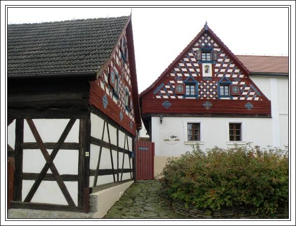 Chebská lidová architektura v Doubravě