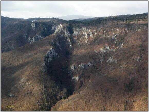 Muránska planina. Poludnica z Muránskeho hradu