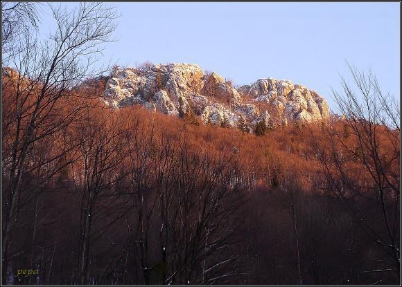 Muránska planina. Bradlo Cigánka