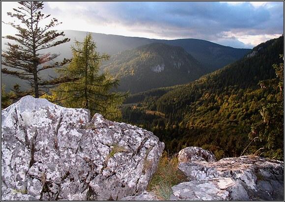 Muránska planina. Na Skalnej bráne