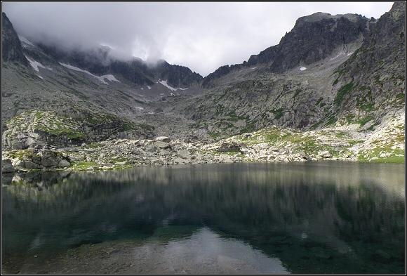 Vysoké Tatry. Malá Studená dolina, Veľké Spišské pleso