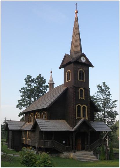 Dřevěný kostel sv. Anny v Tatranskej Javorině