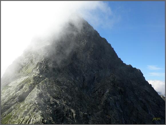 Vysoké Tatry. Vrcholová kupole Ľadového štítu