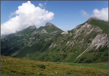 Vysoké Tatry. V Kopském sedle