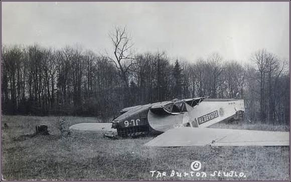Havarovaný Junkers