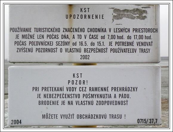 CHKO Dunajské luhy. Vážné varování