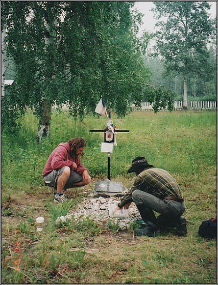 Hrob Eskymo Welzla v Dawson City