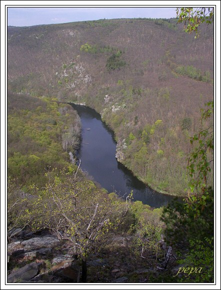 Národní park Podyjí. Vyhlídka Sealsfieldův kámen