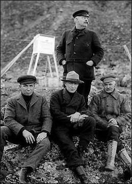 Posádka v roce 1909