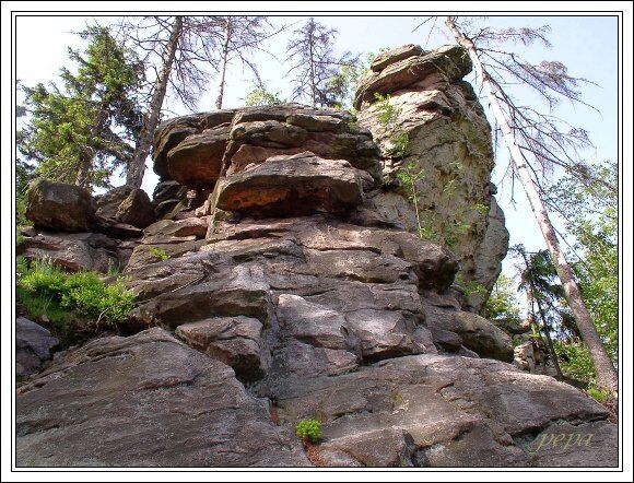 CHKO Žďárské vrchy. Devět skal