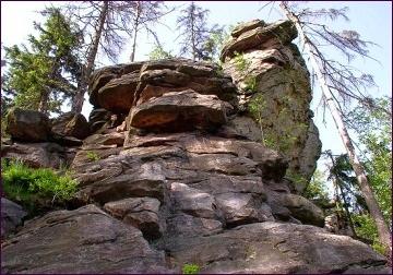 Žďárské vrchy, Devět skal