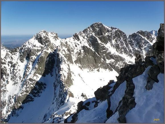 Vysoké Tatry. Čubrina a Velký Mengusovský štít