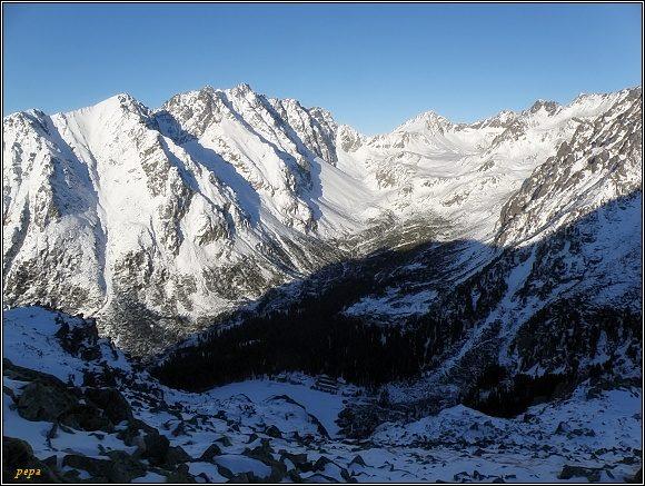 Mengusovská dolina z Ostrvy