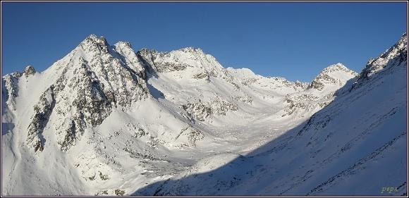 Mlynická dolina z úbočí Patrie
