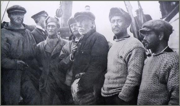 Na palubě Sjőlivu