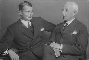 Roald Amundsen a Hjalmar Riiser-Larsen