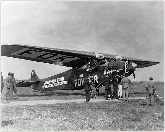 Josephine Ford v době zkušebních letů