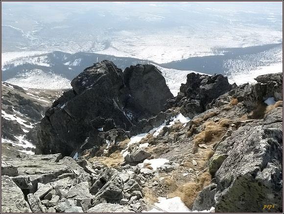 Jižní vrchol Dvojitej veže