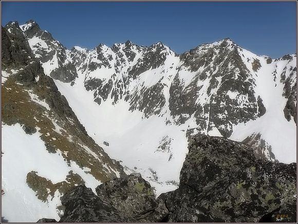 Slavkovská dolina z Velickej kopy