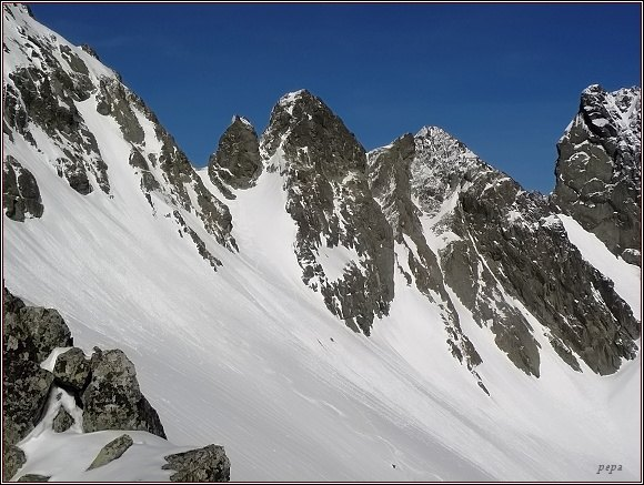 Kozia stráž: Snežné kopy