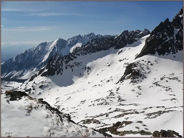 Rumanova dolinka z Kozej stráže
