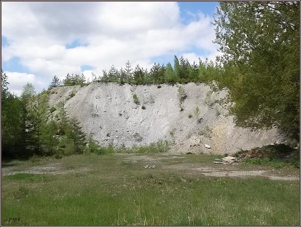 Tady stával Důl Dyleň...
