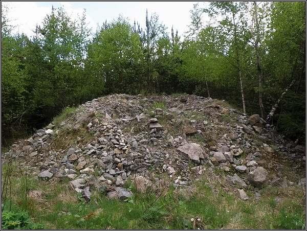 Důl Dyleň. Tady se fáralo do podzemí