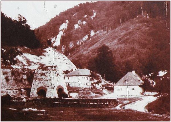 Huť Františka na počátku 20. století