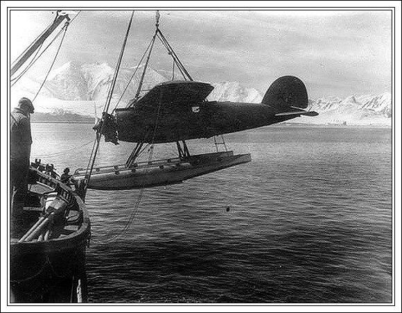 Wilkinsův Lockheed Vega na Aljašce