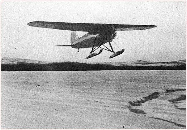 Wilkinsův Lockheed Vega na Aljašce (Nr. 8)