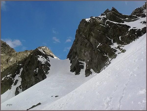 Snežné kopy, Východná Železná brána, Východný Železný štít