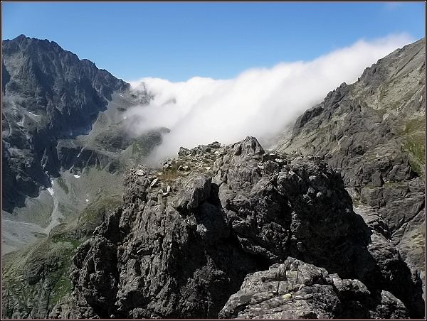 Velická dolina z Opálovej steny