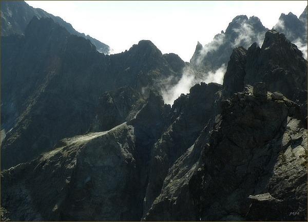 Závěr Kačacej doliny z Rumanovho štítu