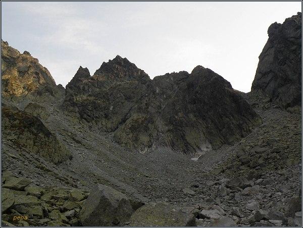 Západná Železná brána, Snežné kopy, Východná Železná brána