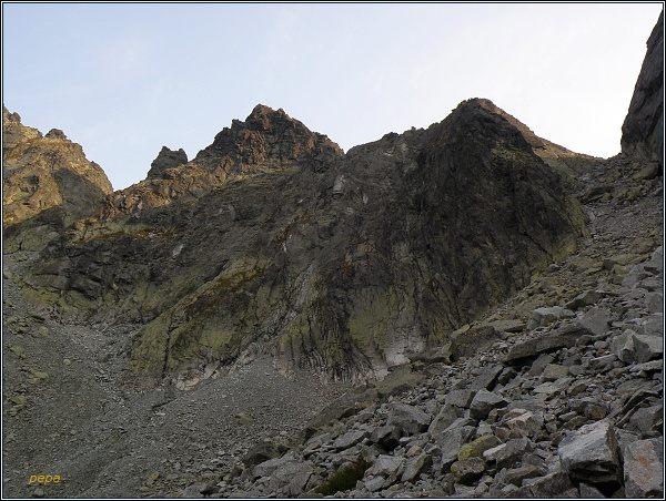 Snežné kopy nad Železnou kotlinou