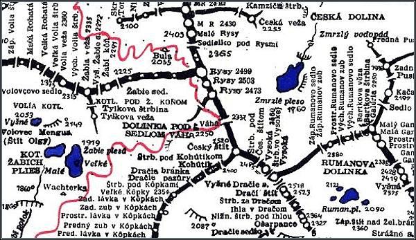 Dračí štít, mapa